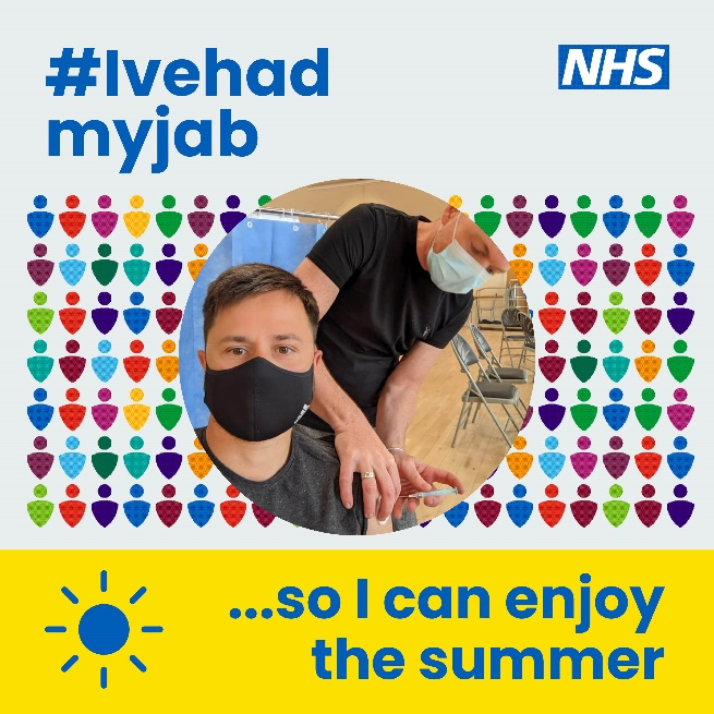 Have your jab so you can enjoy the summer
