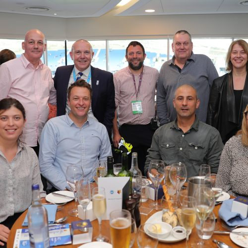 Sussex NHS Workers at BHAFC match